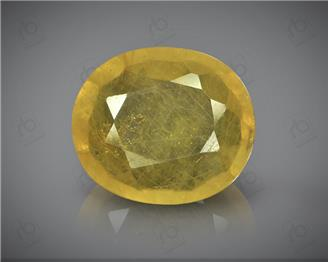 Natural Heated & Treated Yellow Sapphire Certified 4.71 (CTS) ( 60388 ) (D)