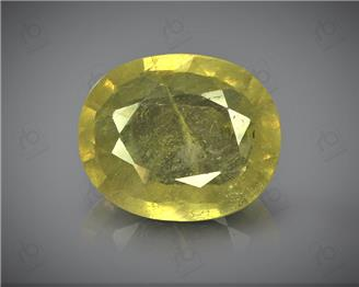 Natural Heated & Treated Yellow Sapphire Certified 4.09 (CTS) ( 71772 )