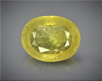 Natural Heated & Treated Yellow Sapphire Certified 3.90 (CTS) ( 71836 )