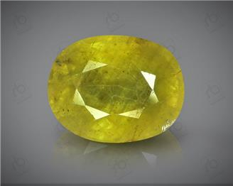 Natural Heated & Treated Yellow Sapphire Certified 4.85 (CTS) ( 71838 )