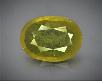 Natural Heated & Treated Yellow Sapphire Certified 4.75 (CTS) ( 71839 )
