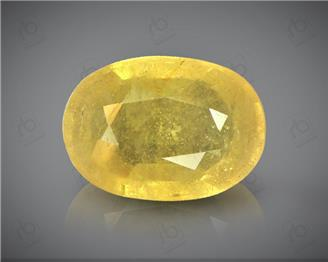Natural Heated & Treated Yellow Sapphire Certified 5.53 (CTS) ( 62897 )