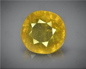 Natural Heated & Treated Yellow Sapphire Certified 4.56 (CTS) ( 62918 ) (D)