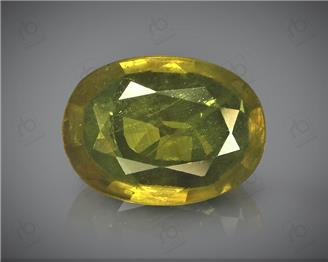 Natural Heated & Treated Yellow Sapphire Certified 2.02 CTS (DIN 86200 )