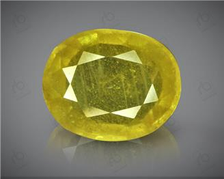 Natural Heated & Treated Yellow Sapphire Certified 8.04 carats -96526