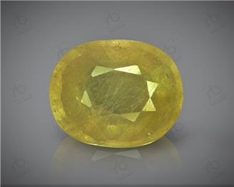 Natural Heated & Treated Yellow Sapphire Certified 5.35 (CTS) ( 88617 )