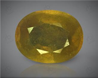 Natural Heated & Treated Yellow Sapphire Certified 7.60 (CTS) ( 60344 )