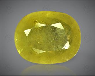 Natural Heated & Treated Yellow Sapphire Certified 6.38 (CTS) ( 60435 ) (D)
