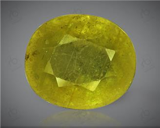Natural Heated & Treated Yellow Sapphire Certified 4.7 carats -1678
