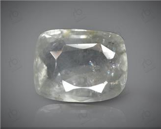 Natural Unheated & Untreated Certified White Sapphire  4.76 cts. ( 64088 )