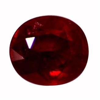 NATURAL TREATED HEATED RUBY (MANAK) 4.59 CTS (7127)