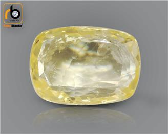 Yellow Sapphire Untreated & Unheated Natural Certified 2.97 cts. ( 67327 )