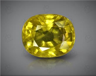 Natural Heated & Treated Yellow Sapphire Certified 4.32 (CTS) ( 85599 ) (D)