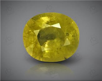 Natural Heated & Treated Yellow Sapphire Certified 3.22 CTS (DIN 86167 )