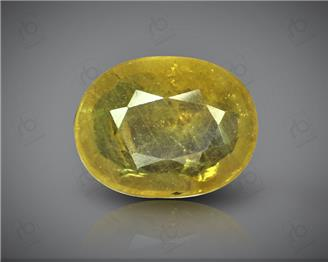 Natural Heated & Treated Yellow Sapphire Certified 4.84 carats -96536