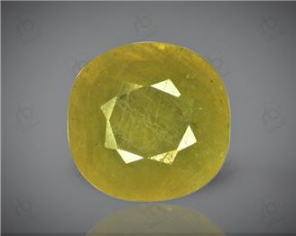 Natural Heated & Treated Yellow Sapphire Certified 6.61 carats -96573