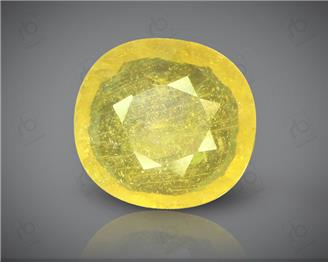 Natural Heated & Treated Yellow Sapphire Certified 3.65 (CTS) ( 88622 )