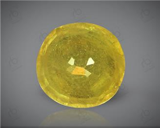 Natural Heated & Treated Yellow Sapphire Certified 4.07 (CTS) ( 88623 ) (D)