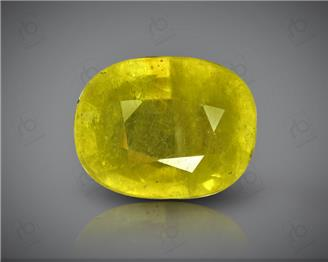 Natural Heated & Treated Yellow Sapphire Certified 5.51 (CTS) ( 88629 )
