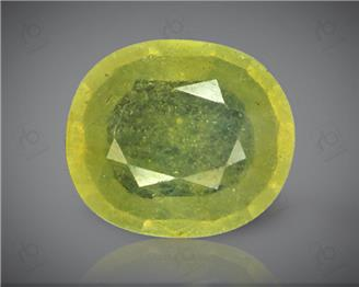 Natural Heated & Treated Yellow Sapphire Certified 3.86 (CTS) ( 71842 )