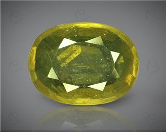 Natural Heated & Treated Yellow Sapphire Certified 4.73 (CTS) ( 71849 )
