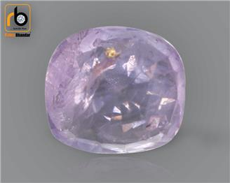 NATURAL UNHEATED UNTREATED PINK SAPPHIRE (MANAK) CERTIFIED (c) 3.37 CTS (0975)