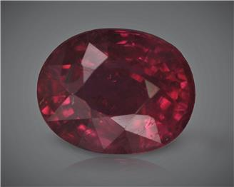 Natural Ruby (Manik) Heated Treated Certified 1.96 CTS... ( 80370 )