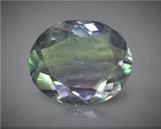 Natural Flourite Certified 12.99 CTS (7355)