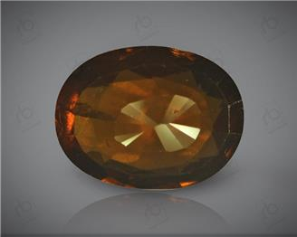 Natural Hessonite Garnet  (Gomed) Certified 5.97 CTS. ( 92326 )