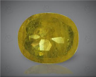 Natural Heated & Treated Yellow Sapphire Certified 3.64 (CTS) ( 62894 )
