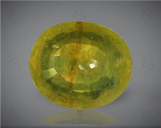 Natural Heated & Treated Yellow Sapphire Certified 3.76 (CTS) ( 71864 )