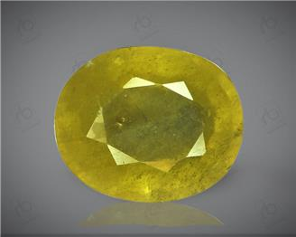 Natural Heated & Treated Yellow Sapphire Certified 4.97 (CTS) ( 71858 )