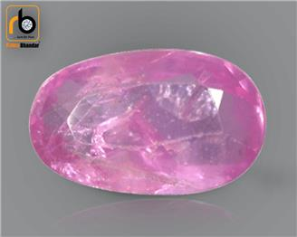 NATURAL UNHEATED UNTREATED  PINK SAPPHIRE (O) 1.02 CRT ( 54592 )
