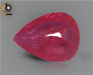 NATURAL RUBY (MANAK) (HEATED & TREATED) (MH) 1.06 CRT ( 29364 )