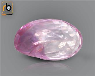 NATURAL  UNHEATED & UNTREATED  PINK SAPPHIRE (MANAK) (o)  1.24  cts.  (  4593  )