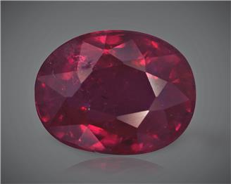 Natural Ruby (Manik) Heated Treated Certified 2.14 CTS... ( 80345 )