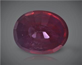 Natural Ruby (Manik) Heated Treated Certified 3.34 carats -89490