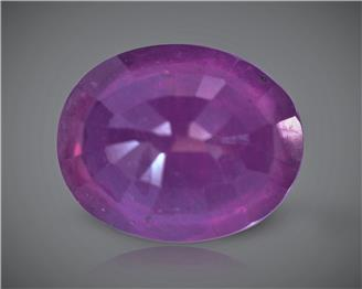 Natural Ruby (Manik) Heated Treated Certified 2.88 carats -88578