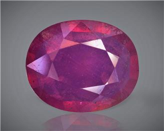 Natural Ruby (Manik) Heated Treated Certified 3.90 CTS... ( 83233 )