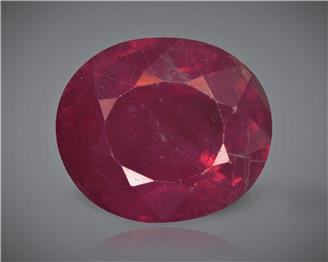 Natural Ruby (Manik) Heated Treated Certified 2.42 CTS... ( 80409 )