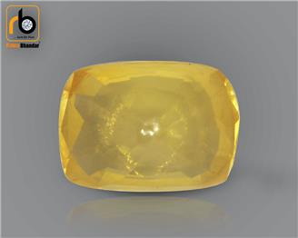 Natural Heated & Treated Certified Yellow Sapphire (Pokhraj)3.23CTS-2392