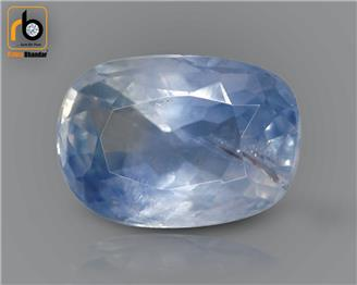 NATURAL  UNHEATED UNTREATED BLUE Sapphire / Neelam 4.18 cts. ( 3263 )