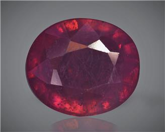 Natural Ruby (Manik) Heated Treated Certified 3.19 carats -89462