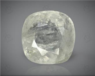 Unheated & Untreated White Sapphire Natural Certified  (BAR) 5.64CTS-2956