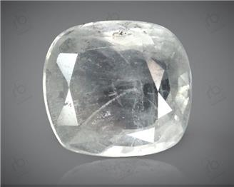 Unheated & Untreated White Sapphire Natural Certified   3.41 cts. ( 4431 )