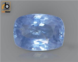 NATURAL  UNHEATED UNTREATED BLUE Sapphire / Neelam 3.27 cts. ( 67413 )