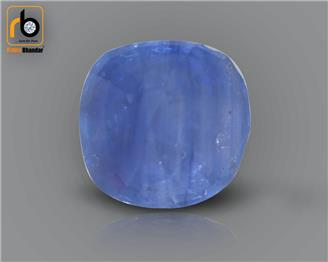 NATURAL  HEATED TREATED BLUE Sapphire / Neelam 4.15 cts. ( 67168 )