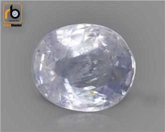 NATURAL UNHEATED UNTREATED BLUE SAPPHIRE (NEELAM) 4.82 CTS (5201)