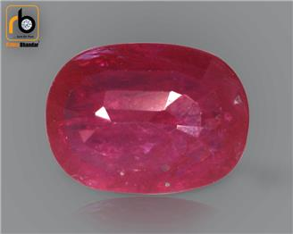 NATURAL RUBY (MANAK) (HEATED & TREATED) (MH) 1.75 CRT ( 29326 )