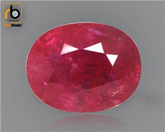 NATURAL RUBY (MANAK) (HEATED & TREATED) (MH) 1.95 CRT ( 29318 )